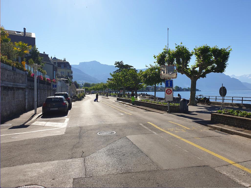 La Ville de Vevey réserve le quai à l'usage des piétons et des cyclistes
