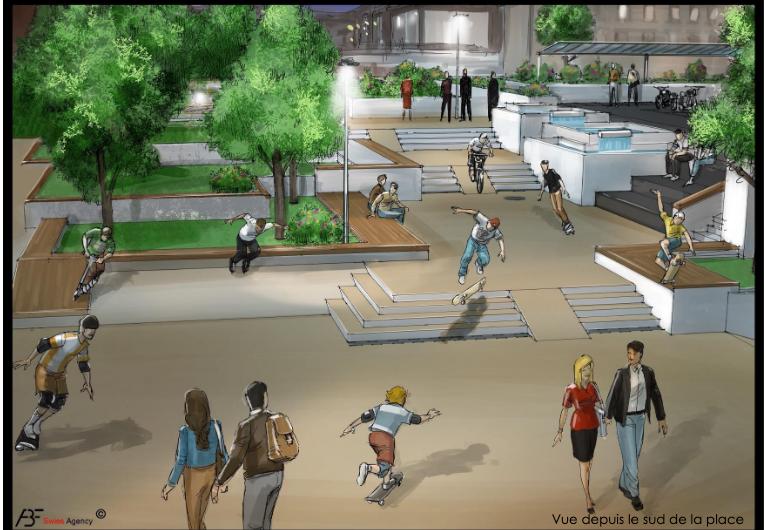 La Municipalité donne enfin suite au postulat Christen pour un espace pour les sports à roulettes (skatepark)